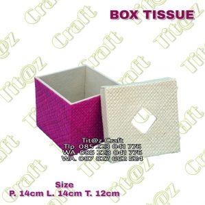 Box Tisu Pandan