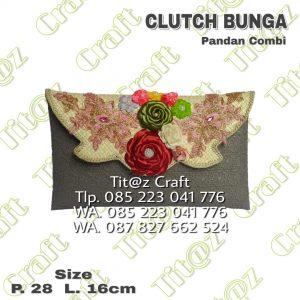 Clutch Pandan Bunga